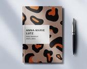 Personalised Hardcover Journal - Animal Print - 2021 Planner