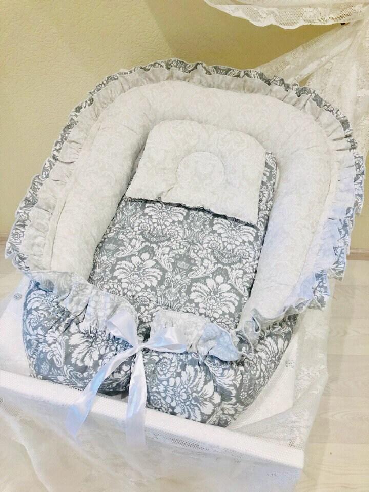 baby nest babybett schlafen nest baby nest babybett babynest etsy. Black Bedroom Furniture Sets. Home Design Ideas