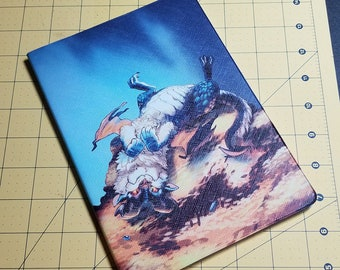 Goldpile (dragon and hoard) Notebook, Journal, Sketchbook