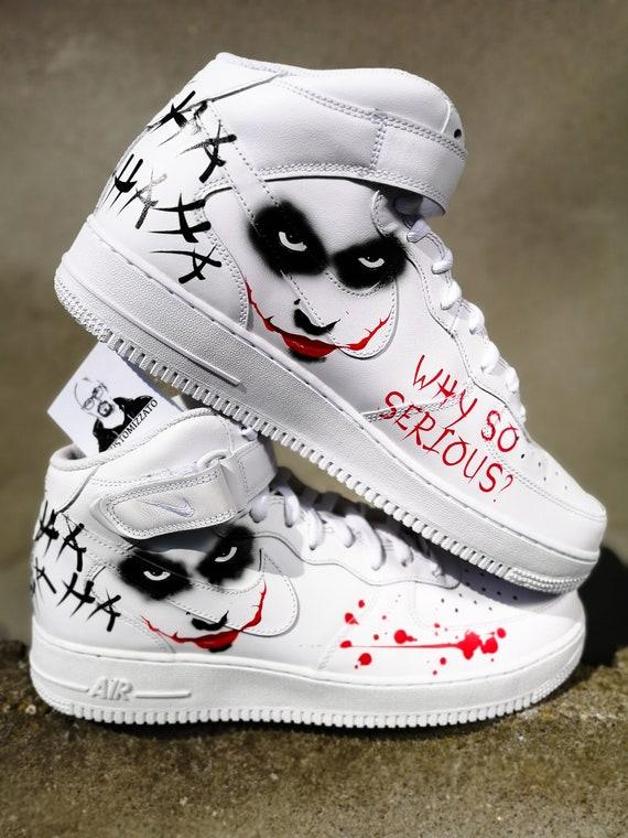 Personalizadas Nike Air Force 1 MID ''Joker''