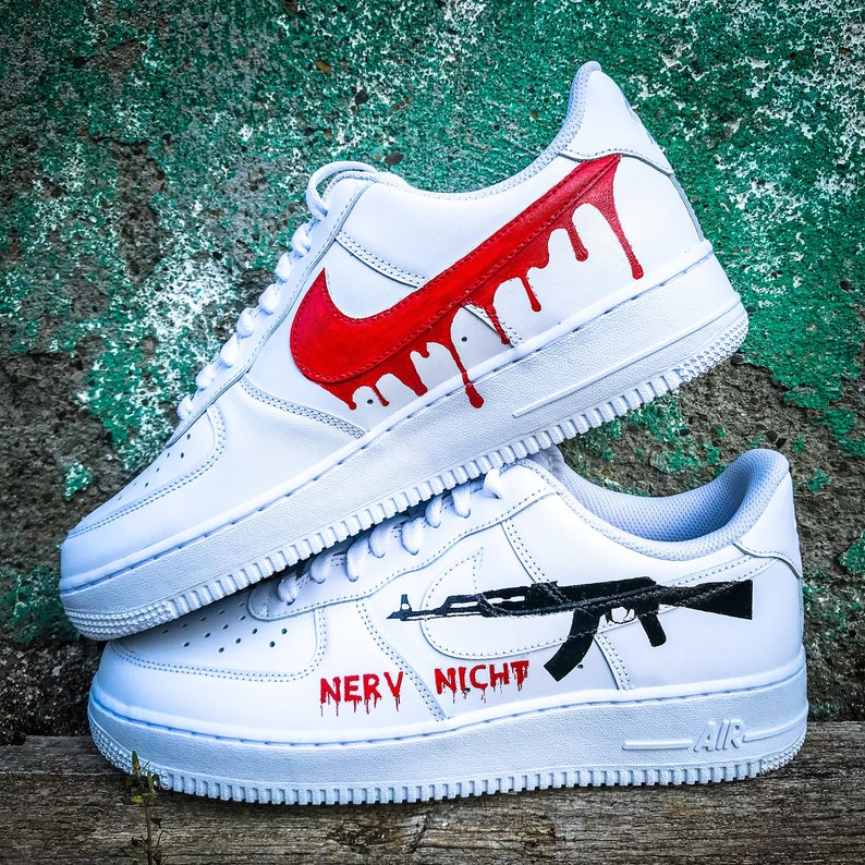 e40d34ba0ee47a Custom sneakers Nike Air Force 1 AK-47