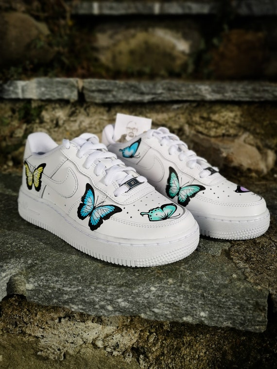 nike air force 1 papillon