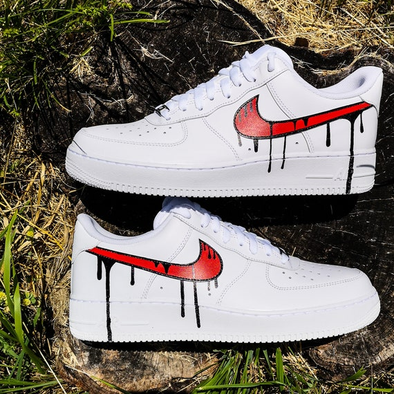 accesorios limpiar jefe  Custom sneakers Nike Air Force 1 | Etsy