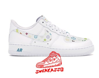 Nike Air Force One 1 Original Custom Shoes Simpsons Escobart