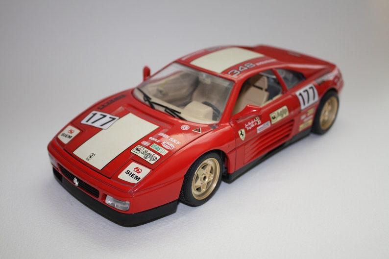 Vintage Car Model Ferrari 348 Tb By Burago