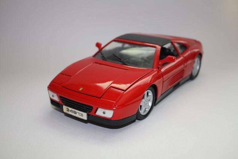 Vintage Ferrari 348 Car Model Maisto
