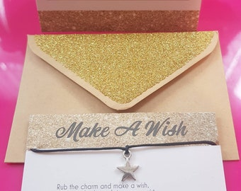 11:11 Make A Wish Solid Star Charm Bracelet + 1 free Charm Bracelet* for You or a Friend!