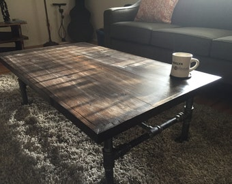 Urban Industrial Coffee Table