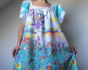 14c92d447097f1 Vintage 70  s jurk JACQUES ROLLEet