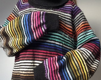 d3a89a7164599e Long RAINBOW sweater