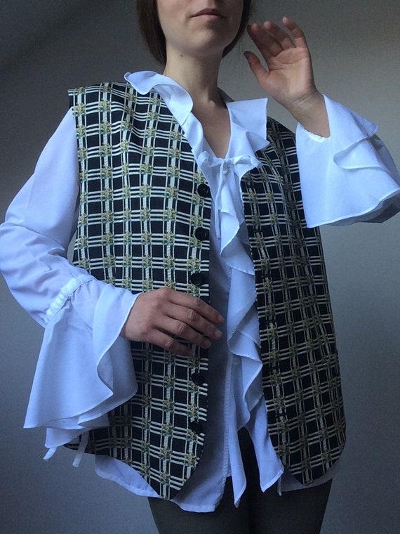 Vintage KENZO Vest, Kenzo Homme, Size XXL, Kenzo W