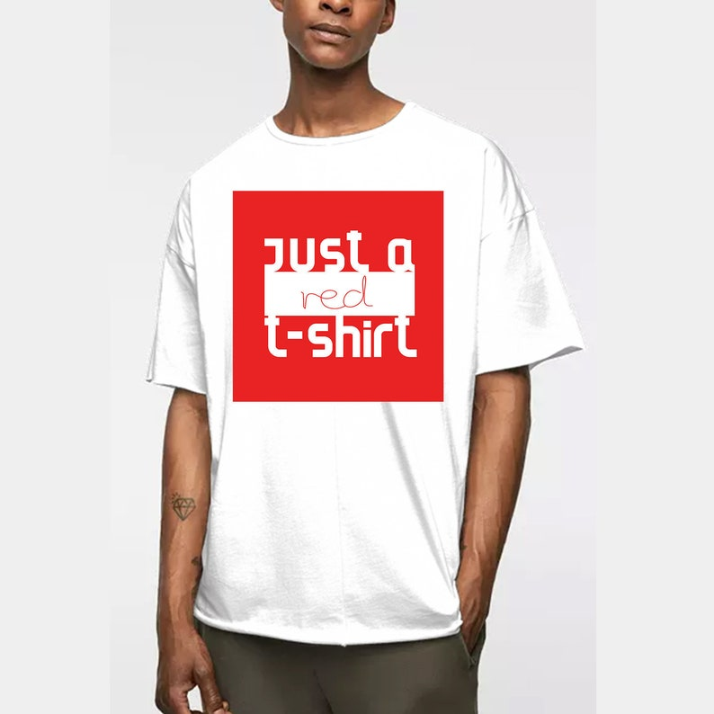 30bf990b18c7b Just A Red T Shirt SVG, Fashion EPS, T Shirt PNG, Shirt Design, Digital  Downloads, Iron on Transfer, Tee Design, Ready to Print