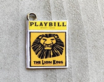 1c5f7d0b91029 Lion king playbill | Etsy