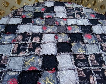 Game of Thrones Rag Quilt