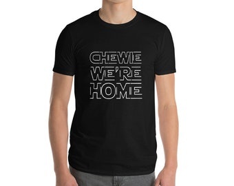 Chewie Han Solo Inspired Men's Tshirt