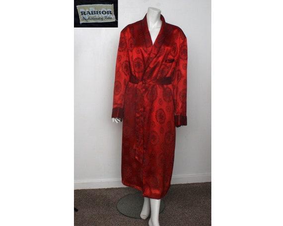 Vintage Men's Dressing gown Smoking Jacket Rabhor