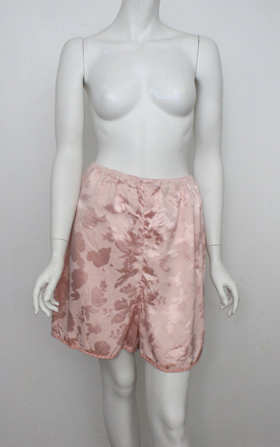 Vintage Knickers Pink Damask French Knickers Handm
