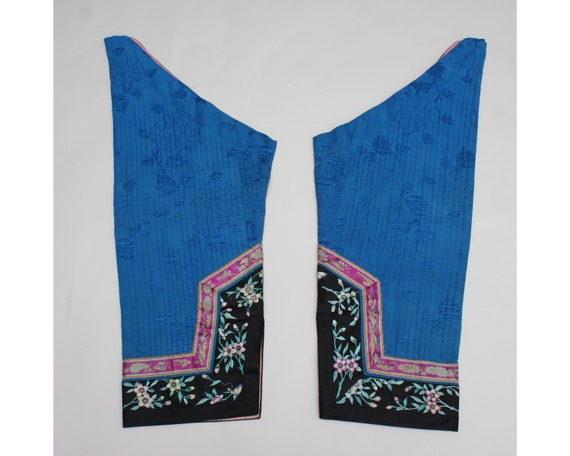 Antique Chinese informal robe sleeves
