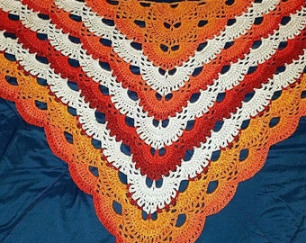 Adult/Child Spring/Fall/Winter Shawl.