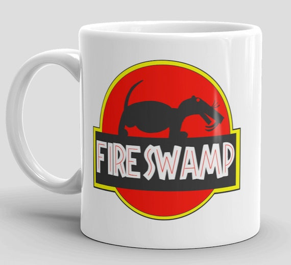The Princess bride fire swamp mug geek gift