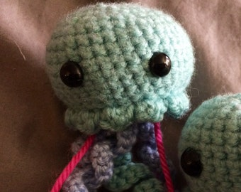 Crochet plush jellyfish