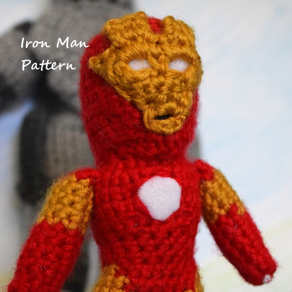 Amigurumi Iron Man Pattern | Crochet | Crafts | 570x570