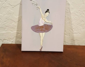 Ballerina mixed media
