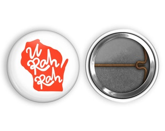 Retractable Badge Reel-Black University of Washington