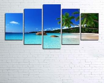 Tropical Paradise 5pc Canvas Set