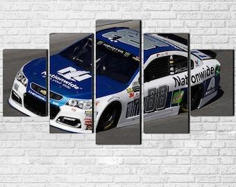 Dale Earnhardt Jr. 5pc Canvas Set