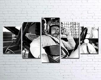 Dale Earnhardt 5pc Canvas Set