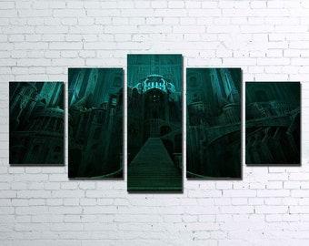 Minas Morgul 5pc Canvas Set