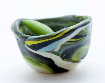 Tiny Clay Pot With Tiny Succulent