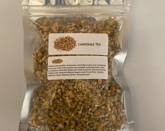 Organic Chamomile (Matricaria chamomilla)
