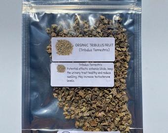 Organic Tribulus Fruit (Tribulus Terrestris)