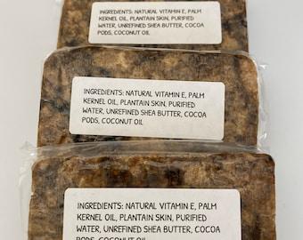Long Lasting Organic Raw African Black Soap