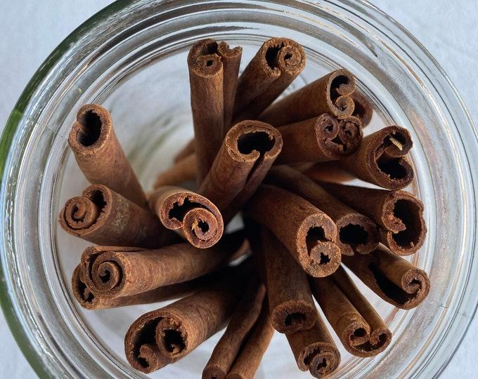 Organic Cinnamon Sticks (Cinnamomum verum)