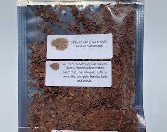 Organic Pau D' Arco Bark