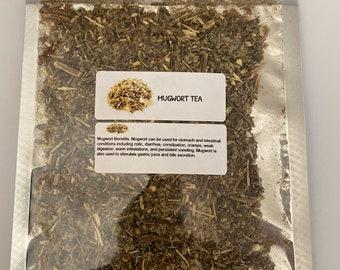 Organic Mugwort (Artemisia vulgaris)