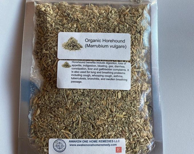 Organic Horehound (Marrubium Vulgare)
