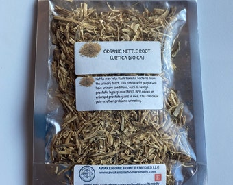 Organic Nettle Root (Urticaria Dioica)
