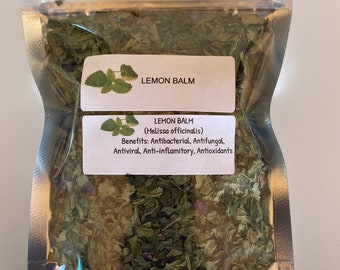 Organic Lemon Balm (Melissa officinalis)