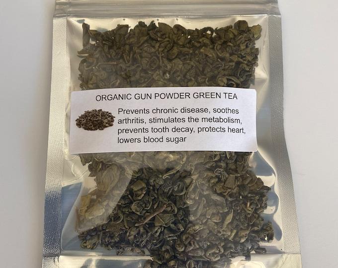 Organic Gunpowder Green