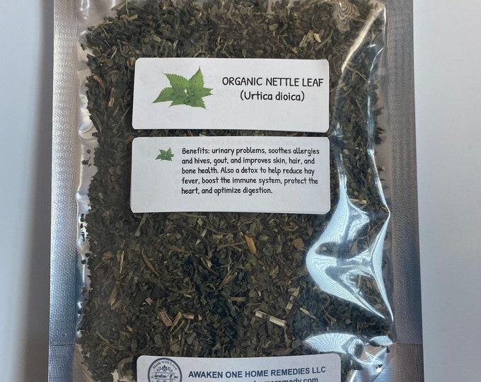 Organic Nettle leaf (Urtica dioica)
