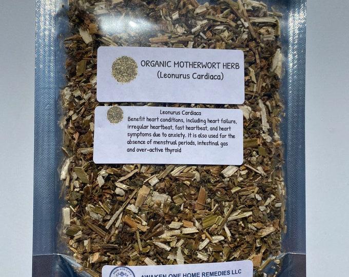 Organic Motherwort (Leonurus cardiaca)