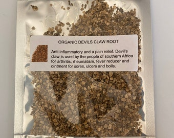 Organic Devil's Claw (Harpagophytum)