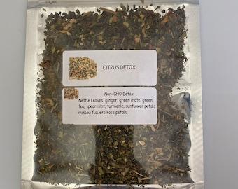 Non-GMO Citrus Detox Tea