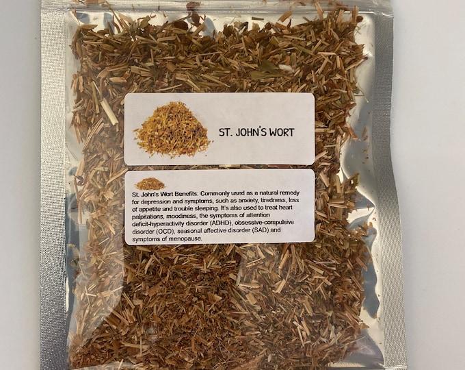 Organic Saint John's Wort (Hypericum perforatum)