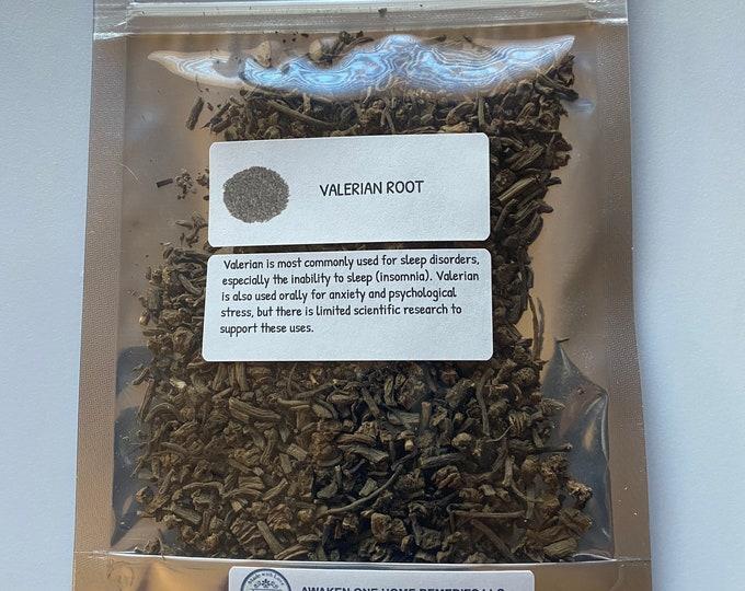 Organic Valerian Root (Valeriana officinalis)