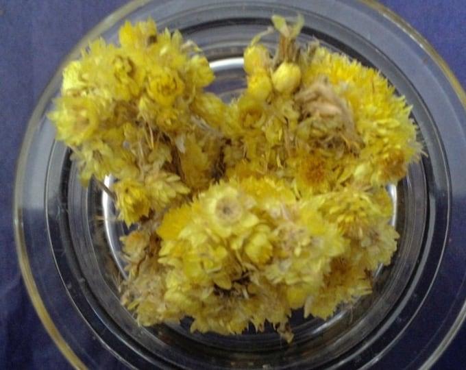 Organic Life Everlasting Flower (Helichrysum stoechas)